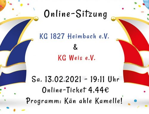 Online Damensitzung am 13.02.2021